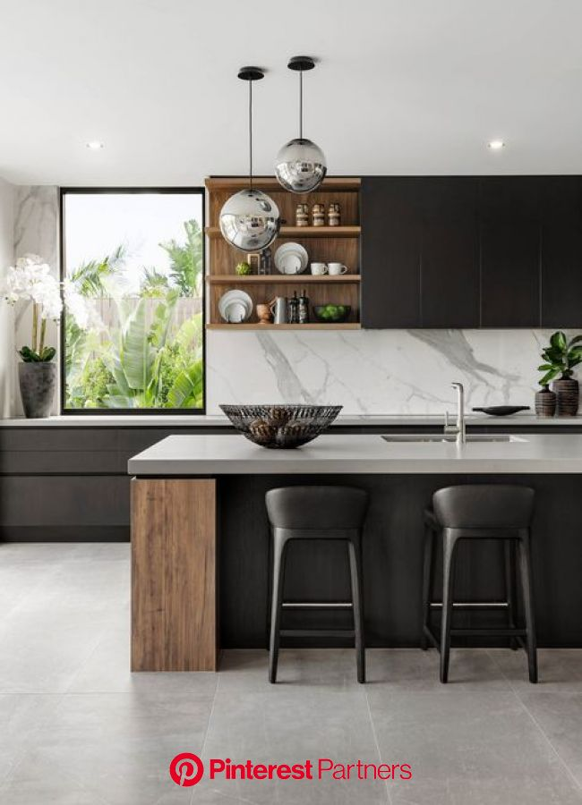 Our New Modern Kitchen The Big Reveal Kitchen Design Modern Kitchen Design Luxury Kitchens Sayo