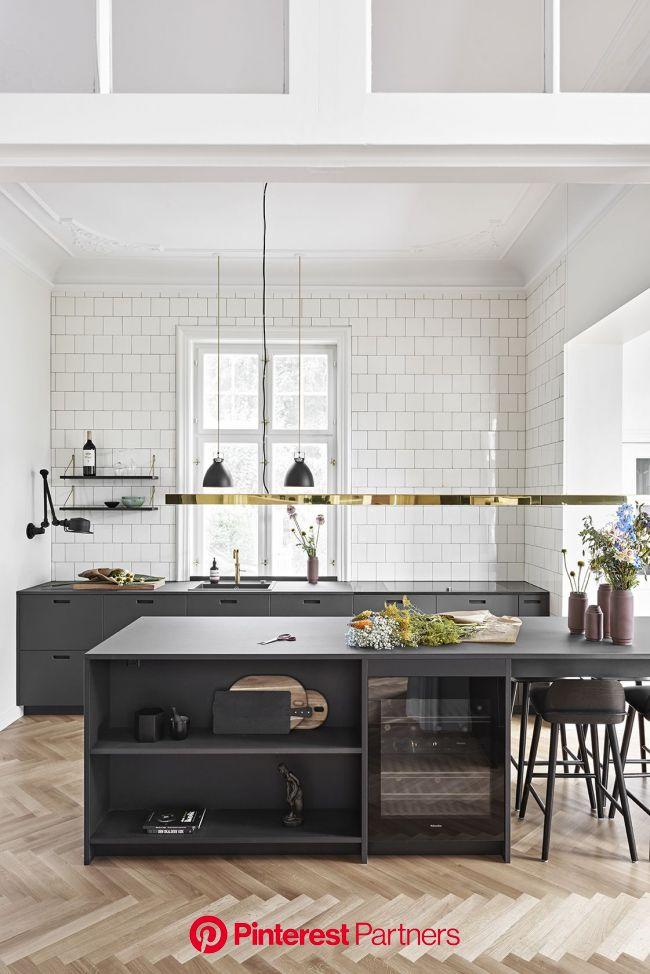 &SHUFL får du linoleums køkken fronter i dansk design til dit ikea hack | Køkken moderne, Moderne køkken, Køkkendesign