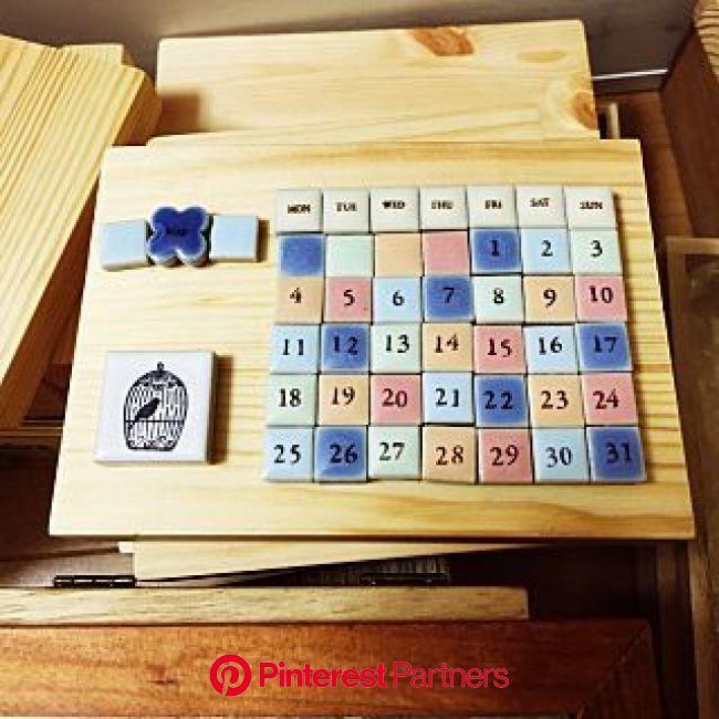 万年カレンダー/ハンドメイドのインテリア実例 - 2015-05-03 16:45:50 | RoomClip(ルームクリップ) | 万年カレンダー, カレンダー, 手作りカレンダー