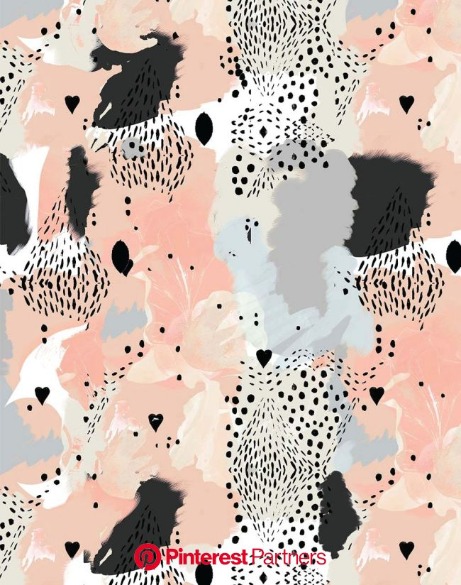 Love Leopard, Peach | Cheetah print wallpaper, Artsy background, Cute patterns wallpaper