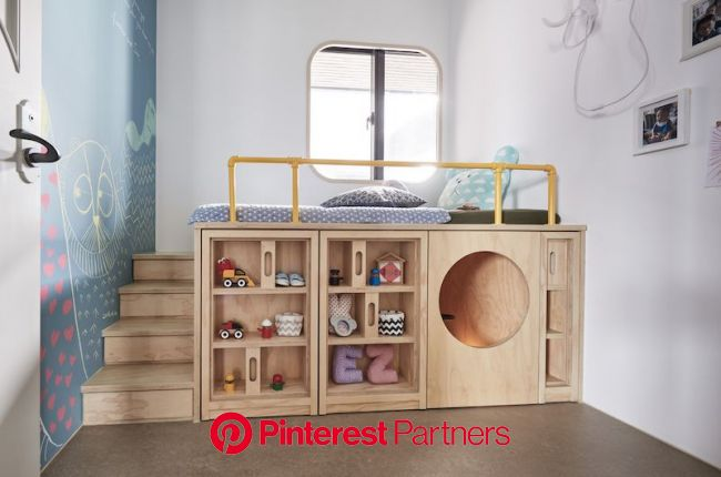 A Completely Customized Family Home Moulded After Each Member's Needs   Childrens bedrooms, Kids room design, Modern kids bedroom