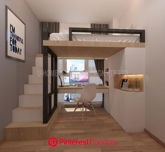 10 Great Ways To Maximise Your Small Space Home Decor Singapore Build A Loft Bed Room Design Bedroom Small Room Design Sayo