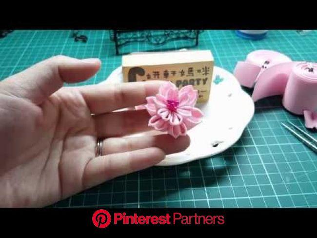 Pin on Kanzashi jp tutorial