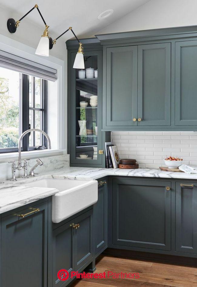 Emily Henderson's Portland Project Kitchen Is The Most Beautiful Kitchen We've Ever Seen | Kitchen cabinet trends, Modern kitchen design, Ki