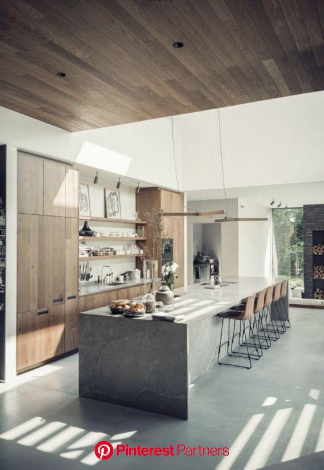 kitchens<br /> Eginstill - Suburban Villa Amsterdam | Kitchen design, Modern kitchen design, Interior design kitchen