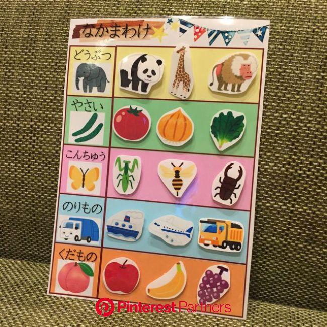 仲間わけの知育玩具!動物、昆虫、野菜、果物、乗り物、どの仲間かわかるかな? | ペーパークラフト 簡単, 手作り おもちゃ ベビー, 幼児 手作り おもちゃ
