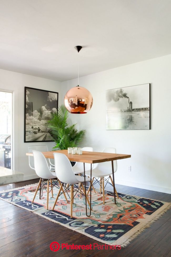 We've Found the Best Counter Stools for Every Budget (With images) | Living room dining room combo, Bohemian dining room, Bohemian living room decor