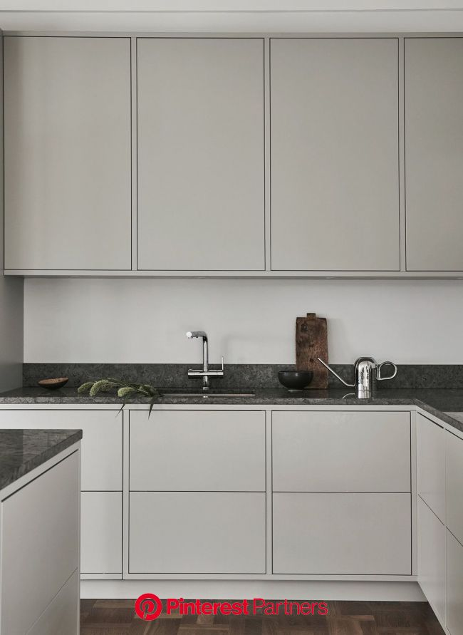 Sundlingkicken minimalistic Nordic Kitchen Design for Nordiska Kök | Beige kitchen