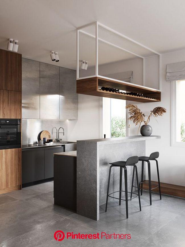 Une maison à Milan par Cartelle Design - PLANETE DECO a homes world | Cuisine design moderne, Cuisine appartement, Cuisine moderne