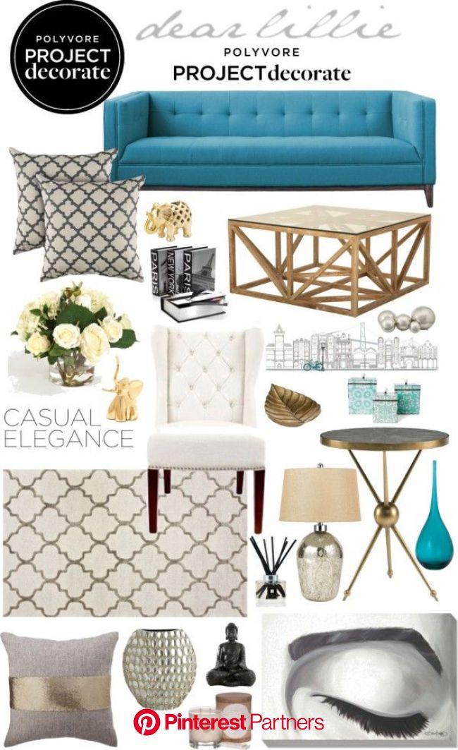 Casual Elegance | Elegant home decor, Home decor, Living room designs