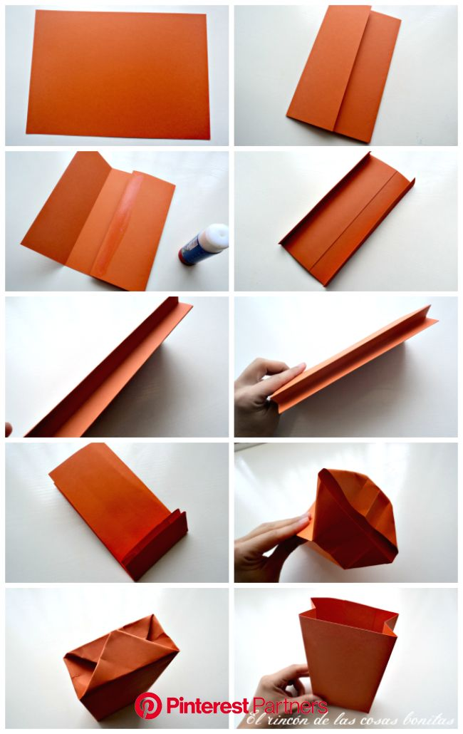 El rincón de las cosas bonitas | Hacer bolsas de papel, Bolsas de papel regalo, Hacer cajas de regalo