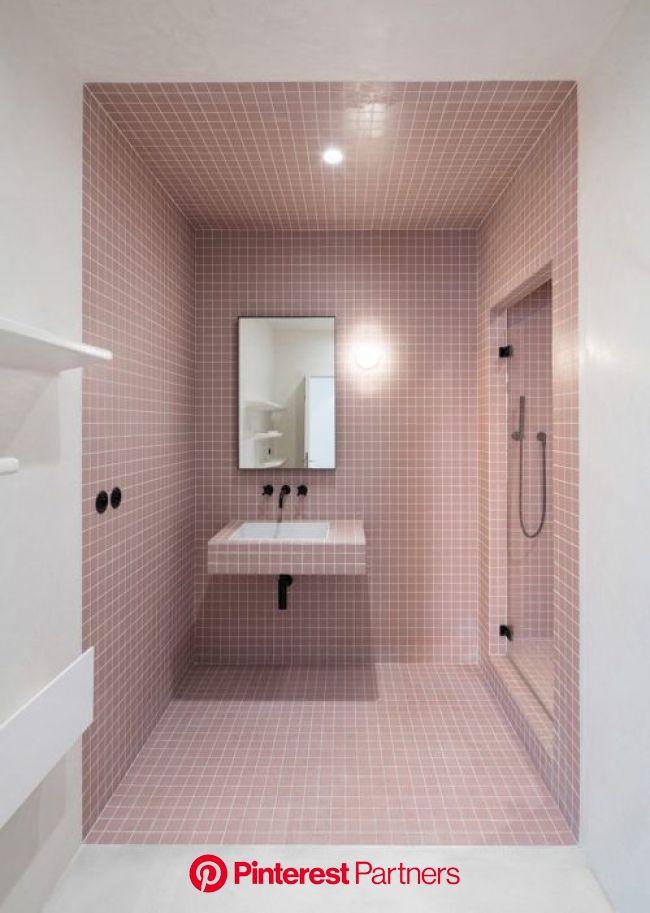 Et pourquoi pas une salle de bain rose terracotta (With images) | Minimalist bathroom, Luxury bathroom, Pastel bathroom