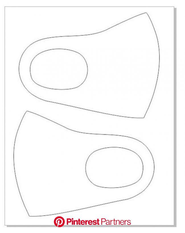 Mascara de proteção sem elastico:  Molde e Medidas - Como Fazer | Máscara, Confecção de máscaras, Artesanato com fita