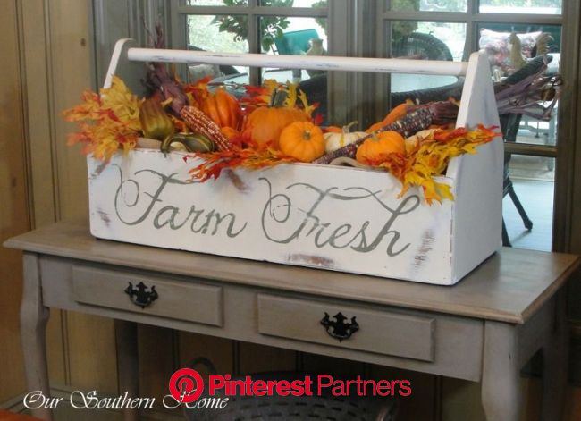 Fall Home Tour {Virtual} - Our Southern Home | Autumn home, Fall deco, Autumn decorating