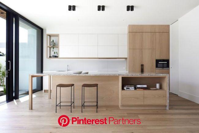 46 Great Examples of White Contemporary Kitchen Cabinets | Contemporary kitchen design, Contemporary style kitchen, Interior design kitchen
