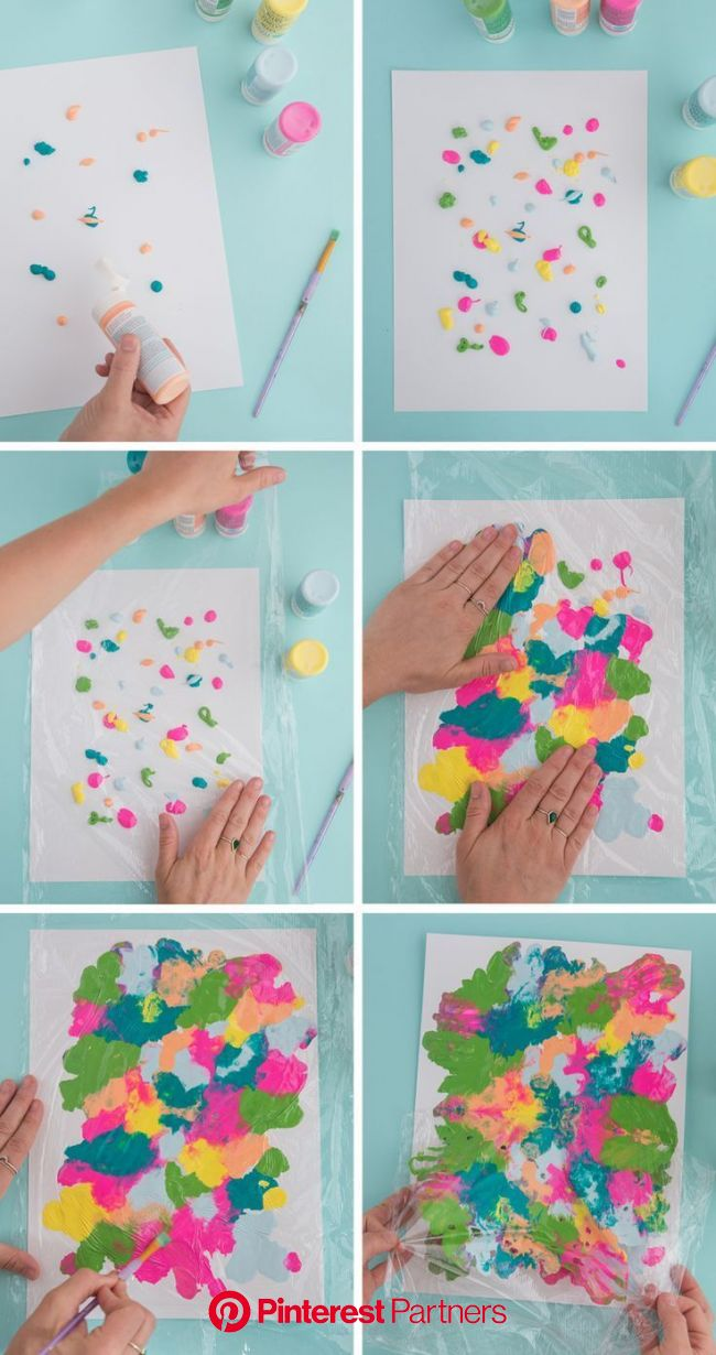 2018_07_24_Smooshed-Paint-Kid-Activity-8-BLOG | Art for kids, Painting art projects, Summer art projects