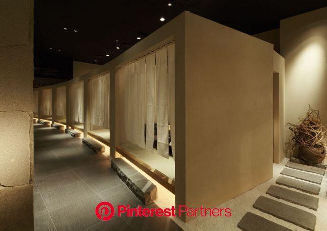 Yakiniku kappo 幸正宗 in Shanghai | 店舗デザイン・空間デザインの有限会社インヴィ INVI Inc. | 日本料理店のインテリア, モダンなレストラン, レストランのデザイン