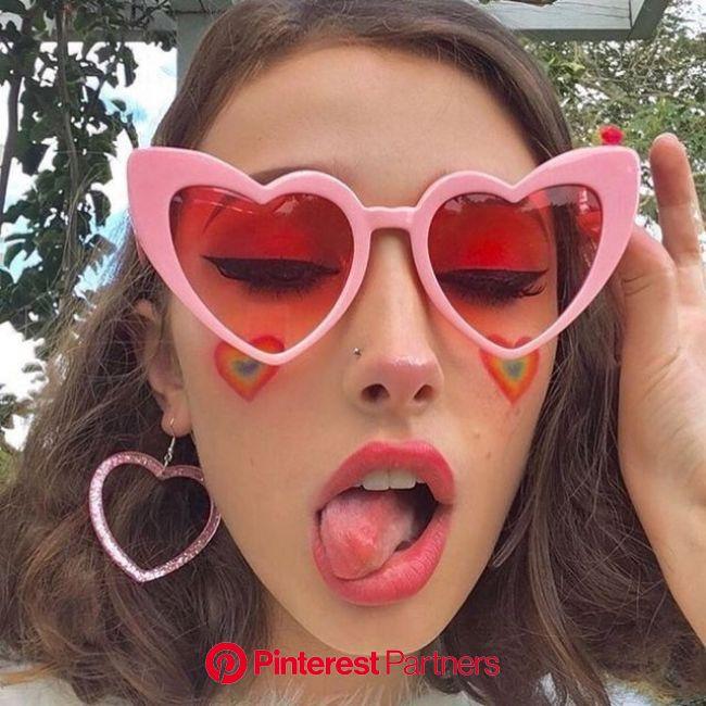 Sunglasses: Everyday opulence | Sunglasses trends for girls | Heart shaped glasses, Heart sunglasses, Heart shaped sunglasses