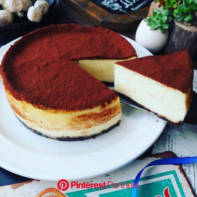 しゃなママ『春の訪れ❤️と、今まで作ったチーズケーキで一番美味しいかも❤️ベイクドティラミスチーズケーキ♪』 | ティラミス レシピ マスカルポーネ, スイーツ レシピ, クッキー 簡単 レシピ