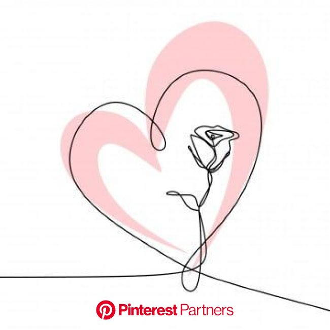 Line Art Drawing  One Continuous Lineart Of A Hand Holding Minimalist Style, One, Lover, Valentine PNG Transparent Clipart Image and PSD File for Free