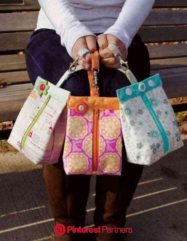 Suzy's Sack.  Cute. | 縫製プロジェクト, 巾着, 手作り 巾着