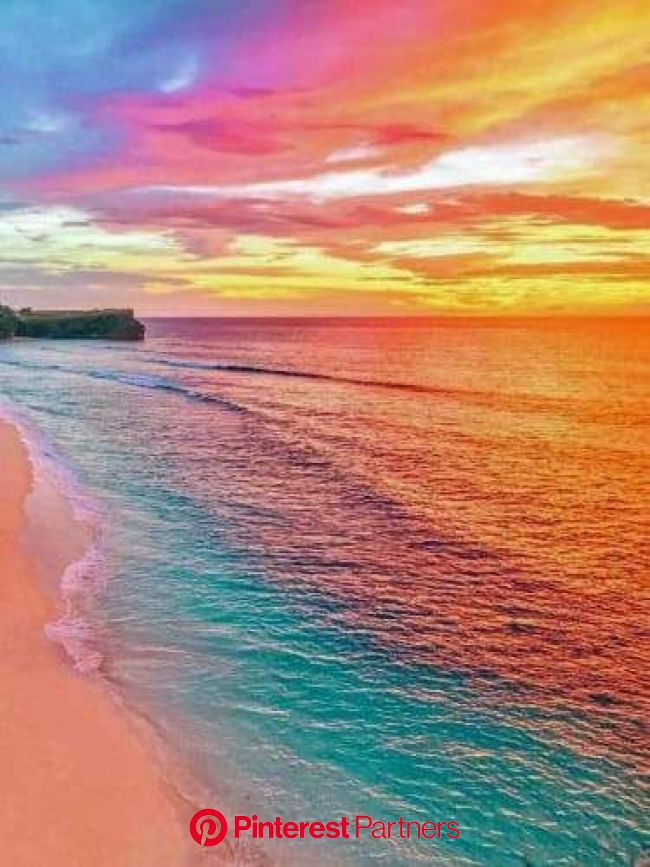 Rainbow Beach | Beautiful landscapes, Nature, Beautiful sunset