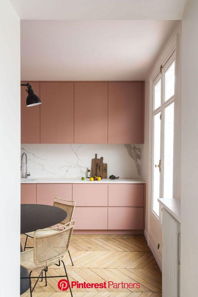 〚 Светлая квартира с красочными акцентами в Париже 〛 ◾ Фото ◾Идеи◾ Дизайн | Bright apartment, Kitchen interior, Apartment interior design