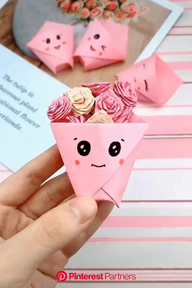 Creative Paper DIY Handy Crafts [Video] in 2020 | Paper crafts diy kids, Origami crafts diy, Paper crafts