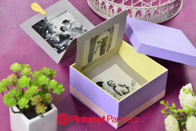 Cómo hacer un álbum de fotos original | Hacer album de fotos, Album de fotos original, Hacer cajas de regalo