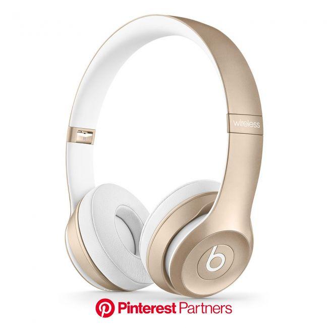 Beats by Dr. Dre Solo2 ワイヤレスオンイヤーヘッドフォン - ゴールド - Apple Store(日本) | ワイヤレスヘッドホン, Beats ヘッドフォン, ヘッドフォン