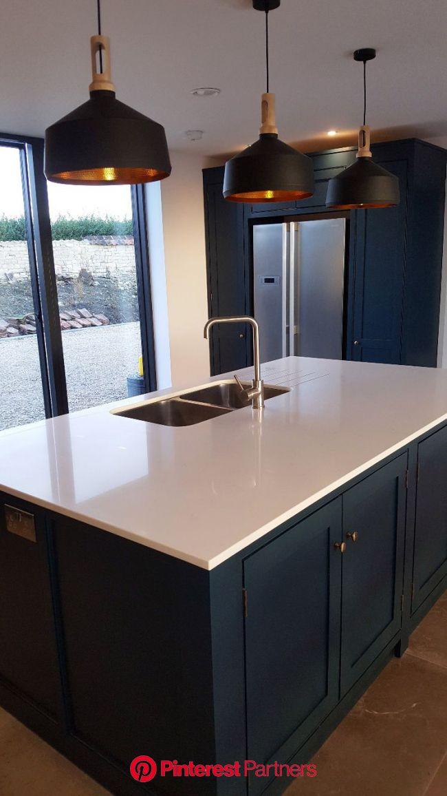 Classic Kitchens Bespoke Kitchens | Classic kitchen design, Classic kitchens, Blue shaker kitchen