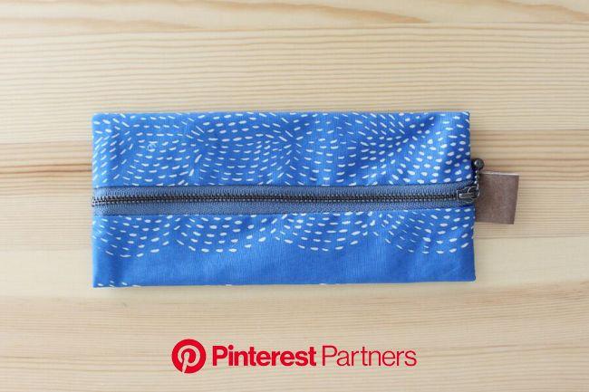 まんなかファスナーペンケースの作り方 | ハンドメイド ペンケース 作り方, ペンケース, ペンケース 作り方