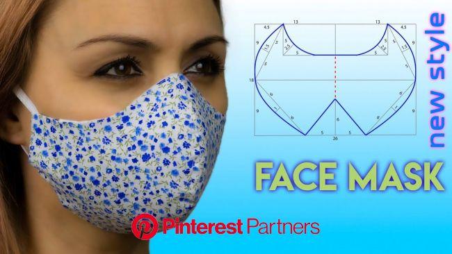 ????How To Make a Face Mask ???? Face Mask Sewing Tutorial | Face Mask Pattern - YouTube | Tutorial de costura, Como fazer mascaras, Técnicas de costu