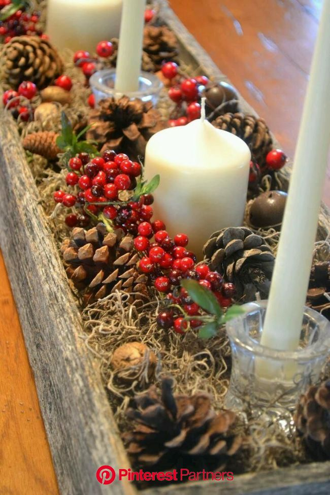 ❣LaDiosaQLlevoDentro❣ on Twitter | Christmas centerpieces diy, Christmas decorations, Christmas table decorations