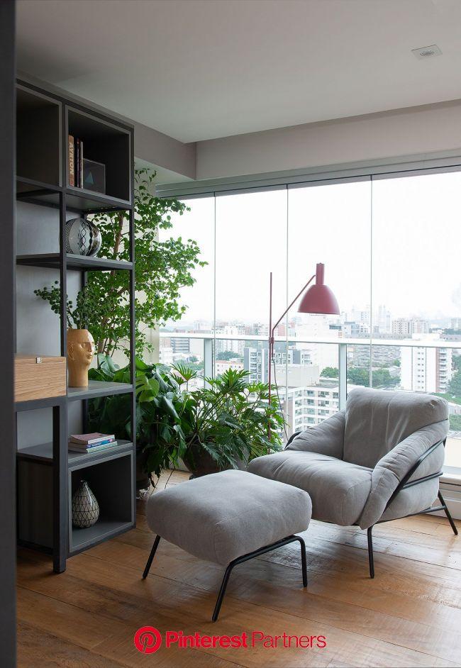 Um Pouco de Bossa no Apê (com imagens) | Sala de design de interiores, Decoração de casa, Ideias de decoração quarto