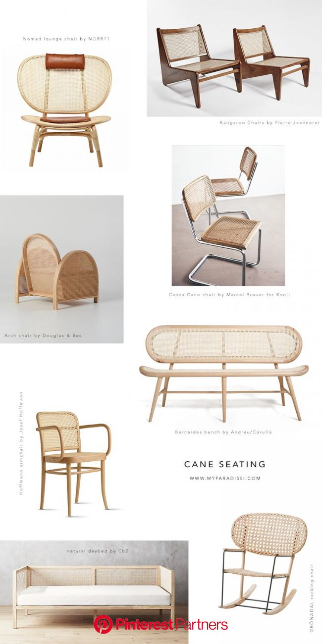 SPOTTED: Cane seating | Furniture, Rattan armchair, Interior furniture