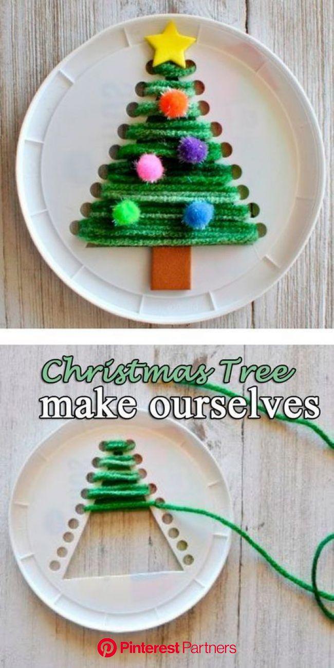 Christmas DIY Crafts for kids! #craftsforkids #christmascrafts #diycrafts   Christmas crafts for kids to make, Christmas crafts for kids, Christmas di