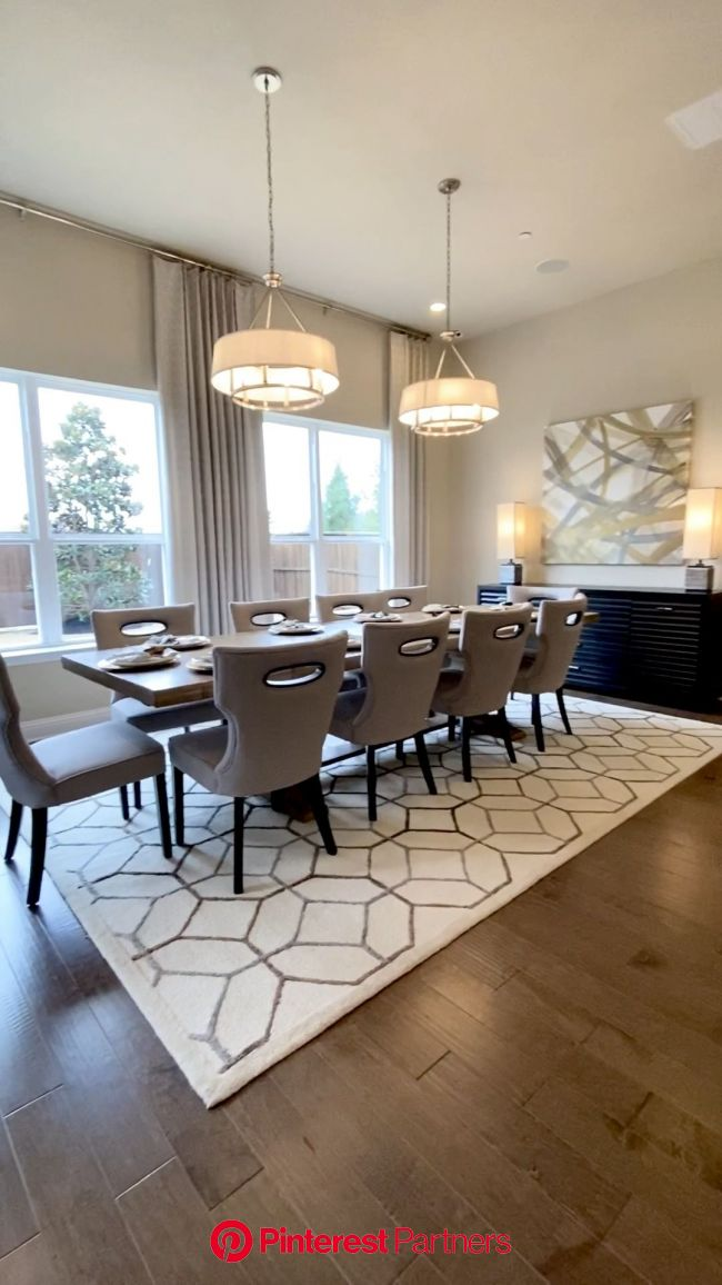 How to Decorate your own home or Stage your home to sell [Video] [Video] in 2020 (With videos) | Beautiful dining rooms, Open dining room, Dining room