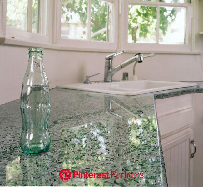 Vetrazzo alternative to granite countertops (165) in 2020 | Glass countertops, Recycled glass countertops, Recycled glass