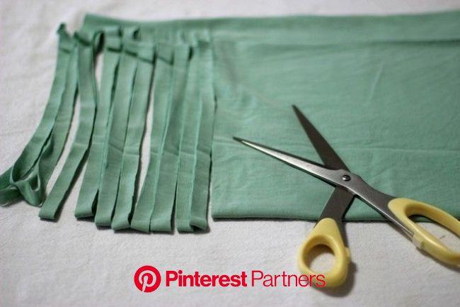 手離す前に試してみませんか?【Tシャツヤーン】の作り方 | Knitting, My style, Sewing