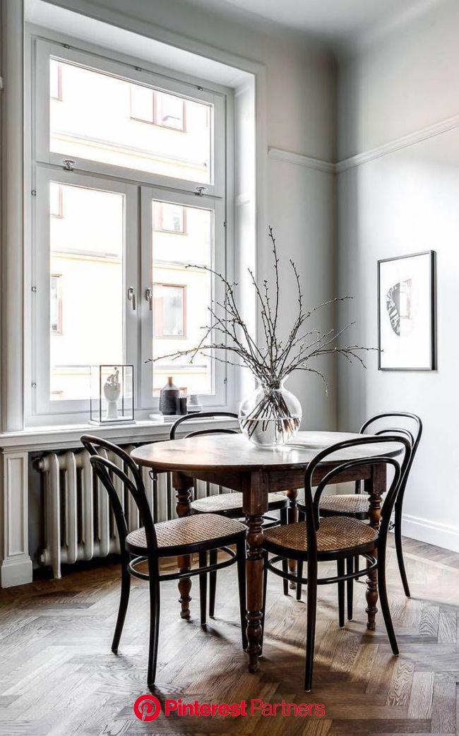 Classy home with natural materials - COCO LAPINE DESIGN | Scandinavian dining room, Dining room design, Home decor