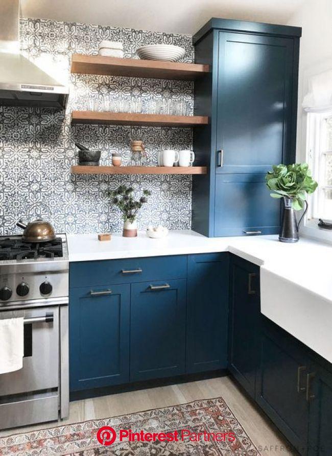 Marin Contemporary Cottage | Piękne kuchnie, Projekty wnętrz kuchni, Projekty kuchni