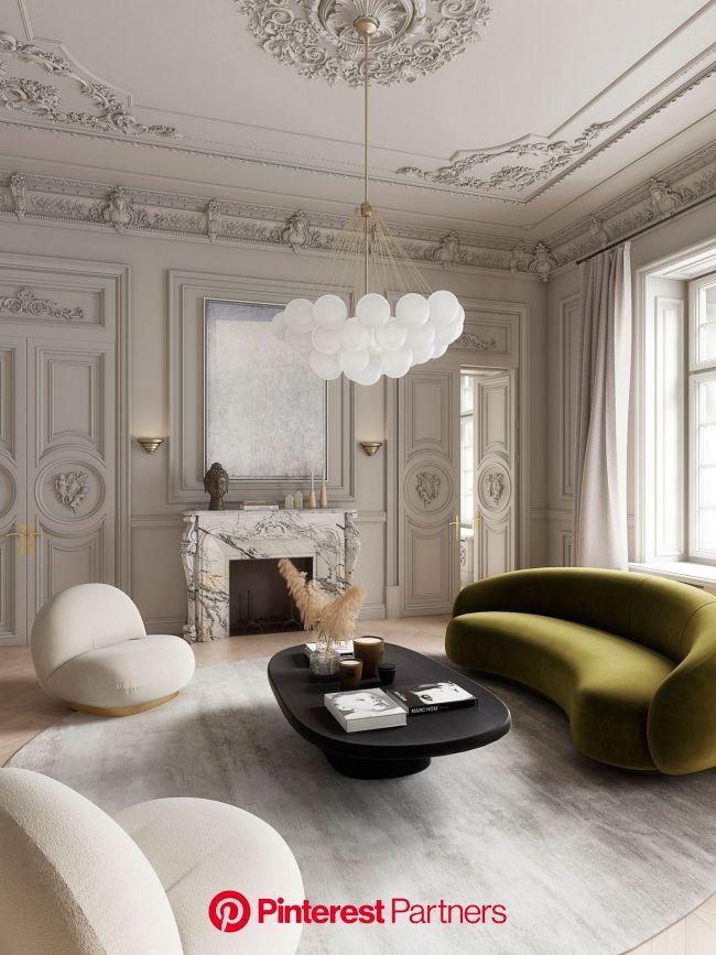 Un piso elegante y señorial en Milán | Arredamento casa di lusso, Arredamento, Design di interni